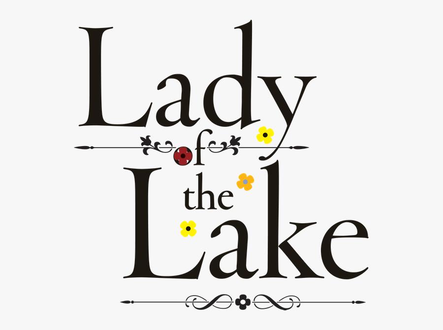 Lady Of The Lake 8/13/2019 - John Baskerville, Transparent Clipart