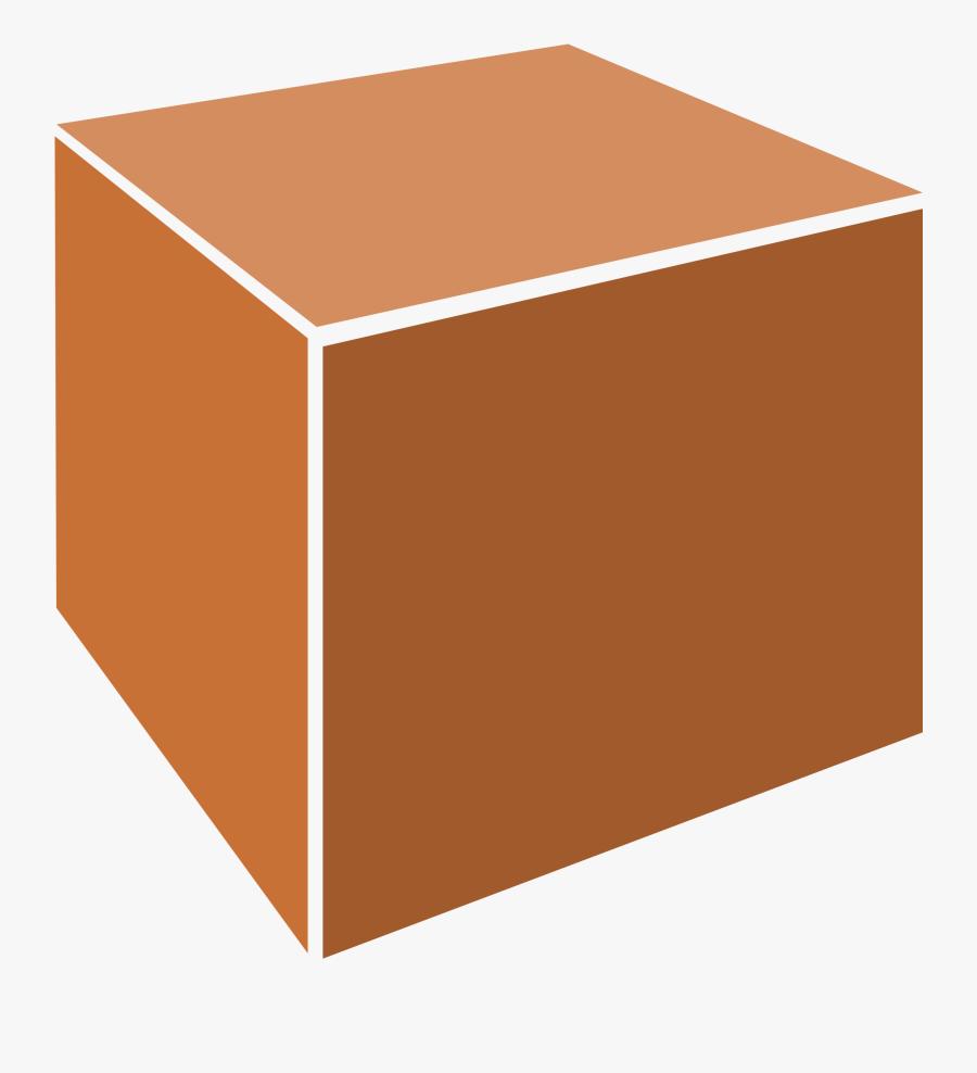 Box,square,angle - 3d Box Vector Png, Transparent Clipart