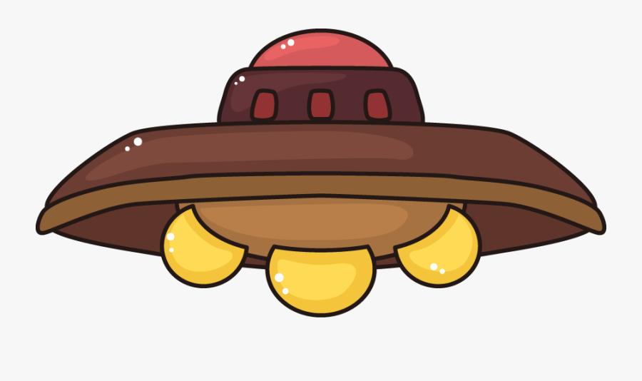 Drawing Ufo Design - Cartoon Ufo Png, Transparent Clipart