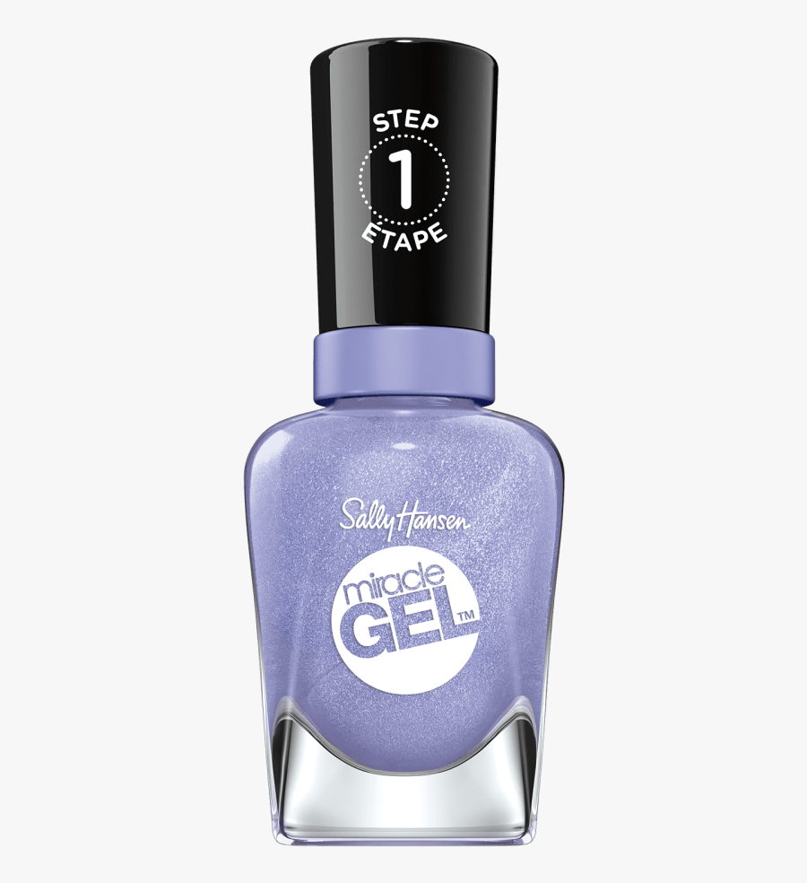 Pastel Punk Collection By Miracle Gel™ - Step 1 Nail Polish, Transparent Clipart