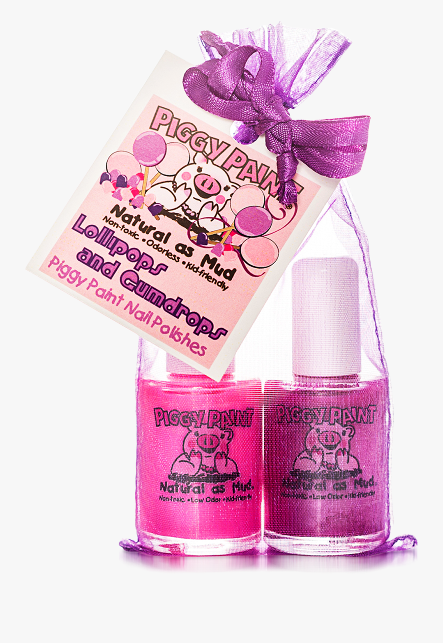 Cutie Fruity Set Includes 4 - Piggy Paint Nail Polish, Transparent Clipart