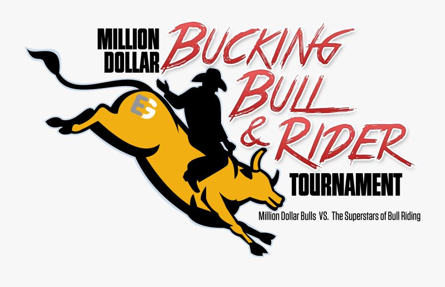 Clip Art Bucking Bull Images - Not The Bulls Riding Logo, Transparent Clipart