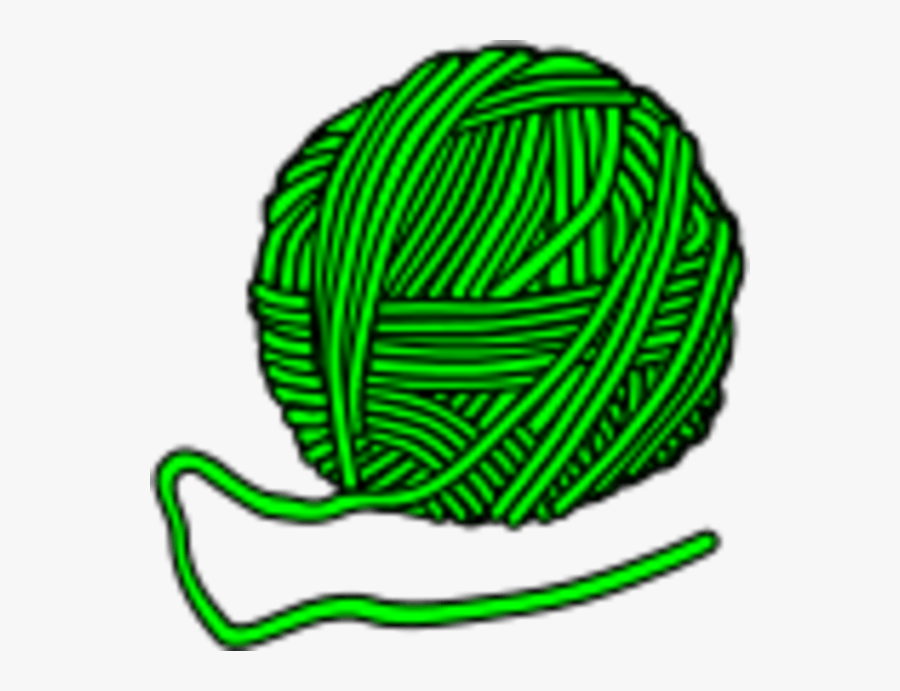Wool Coloured - Ball Of Yarn Clipart, Transparent Clipart