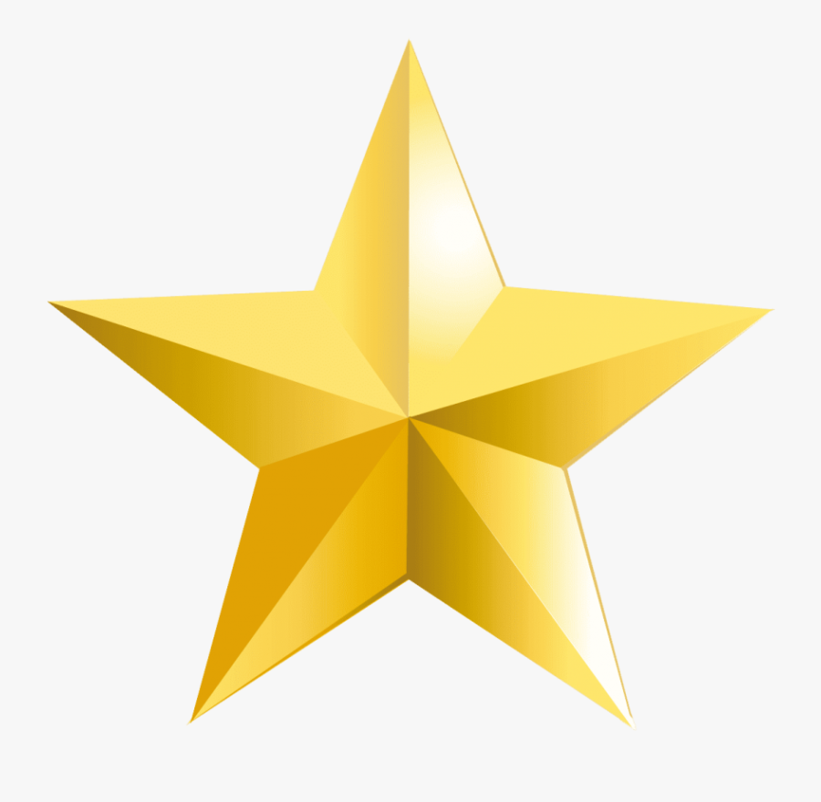 Transparent Yellow Stars Png - Gold Star Png, Transparent Clipart
