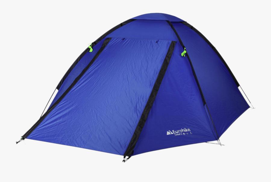 Eurohike 3 Man Tent - Camping Tent Transparent Background, Transparent Clipart