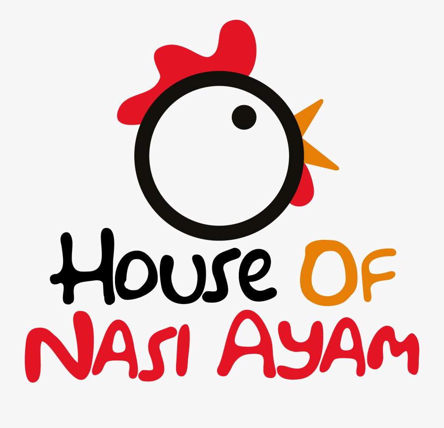 Logo Perniagaan Nasi Ayam - Cartoon, Transparent Clipart
