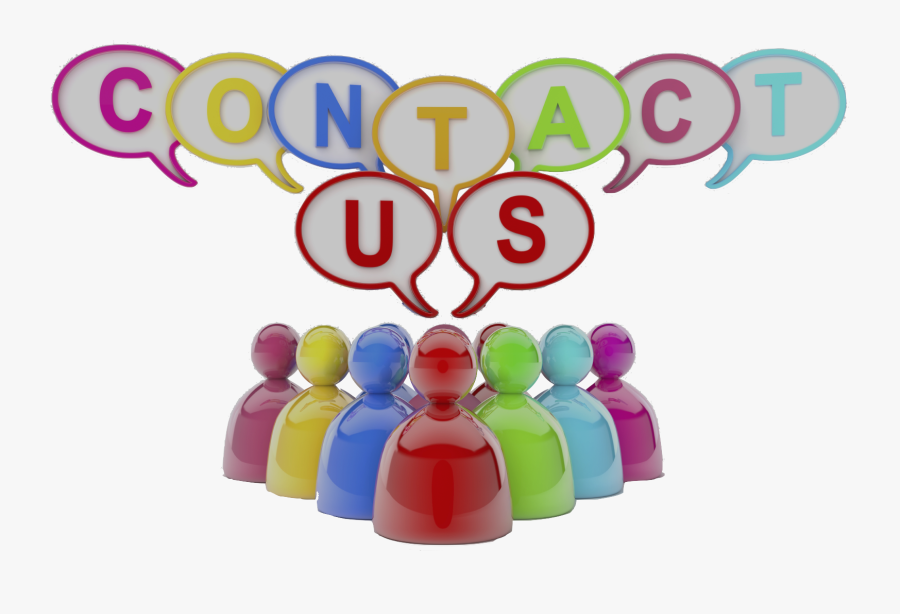 Colourful Contact Us Image Final By Debbie - Colorfulness, Transparent Clipart
