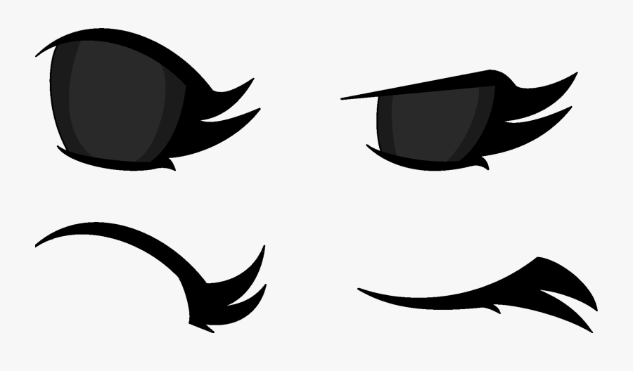 Anime Eye Assets By Coulden2017dx - Cute Anime Eyes Closed, Transparent Clipart