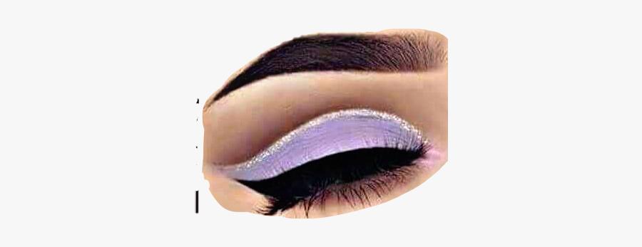 #eye #closed #eyeshadow #purple #makeup #freetoedit - Eye Shadow, Transparent Clipart