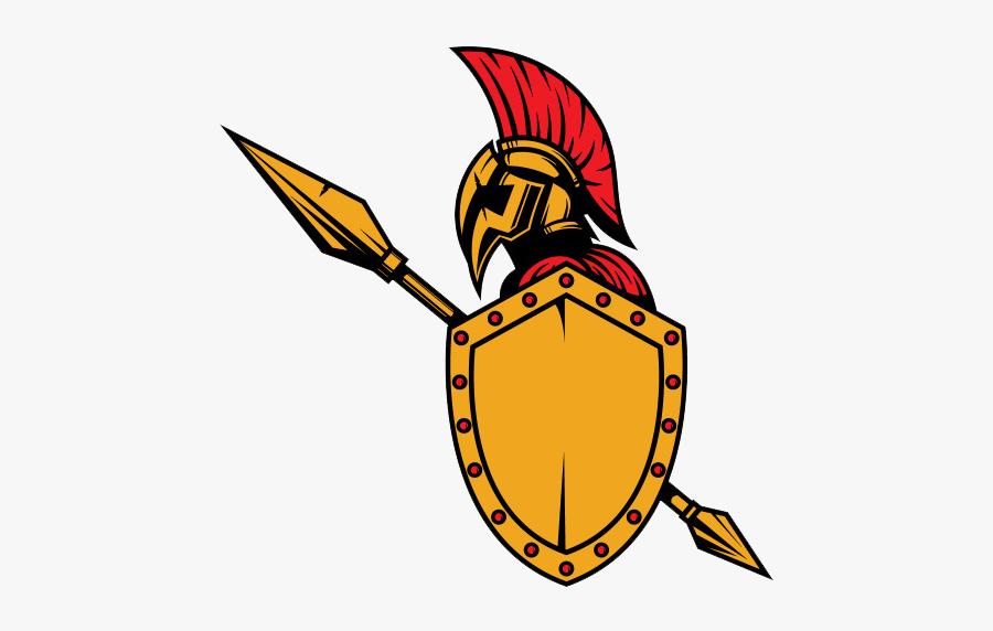 Ancient Army Download Color - Ancient Soldier Logo, Transparent Clipart