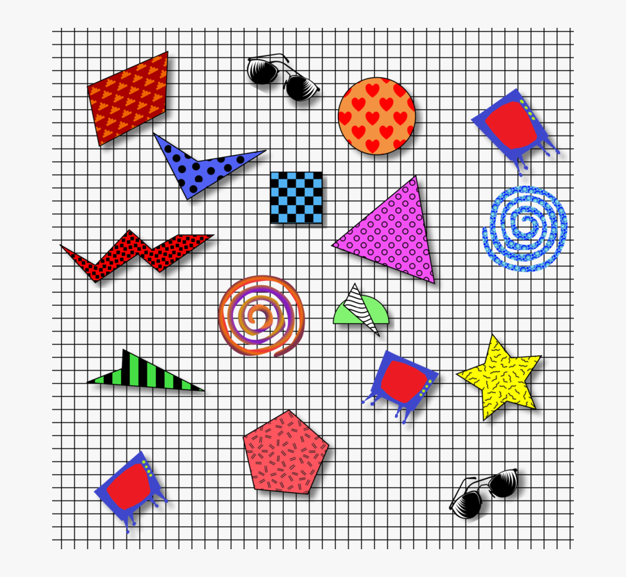 Square,triangle,symmetry - 1980 Clipart, Transparent Clipart