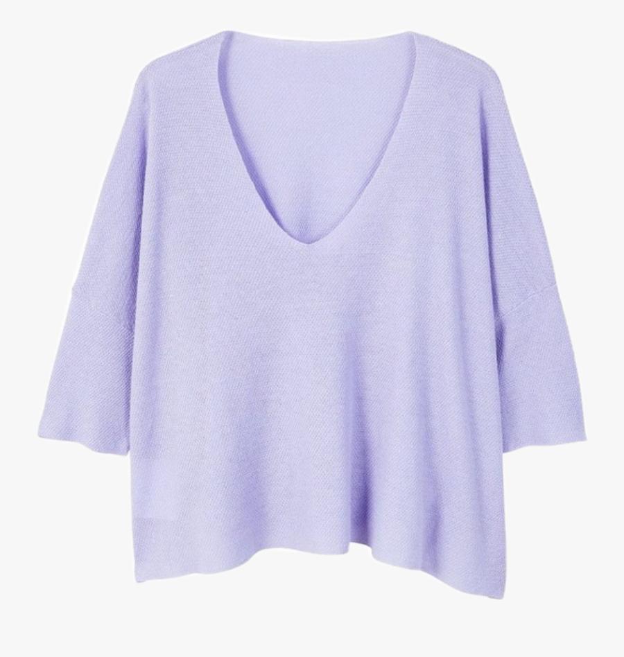 #sweater #sweaters #purple #pastel #shirt #shirts #clothes - Pastel Purple Clothes Transparent, Transparent Clipart