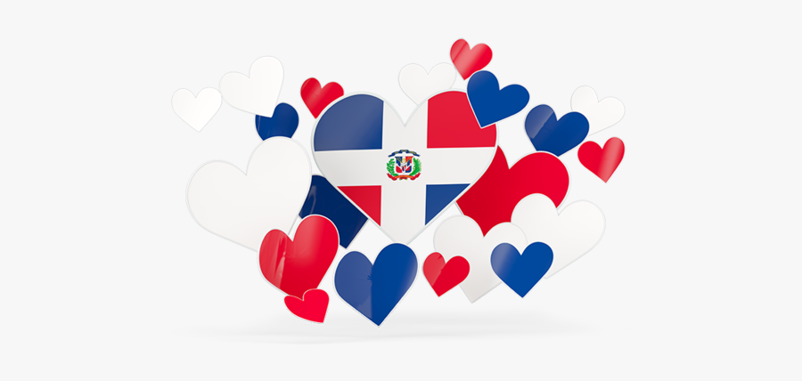 Flying Heart Stickers - Pakistan Flag In Heart, Transparent Clipart