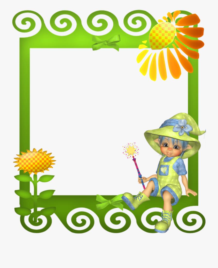 Clipart Frame Cute - Frames For Children, Transparent Clipart