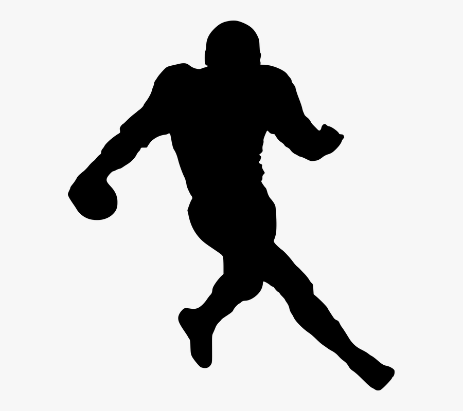 Nfl, National, Football, League, Logo, Icon, Sport - Nfl Football Silhouette Png, Transparent Clipart
