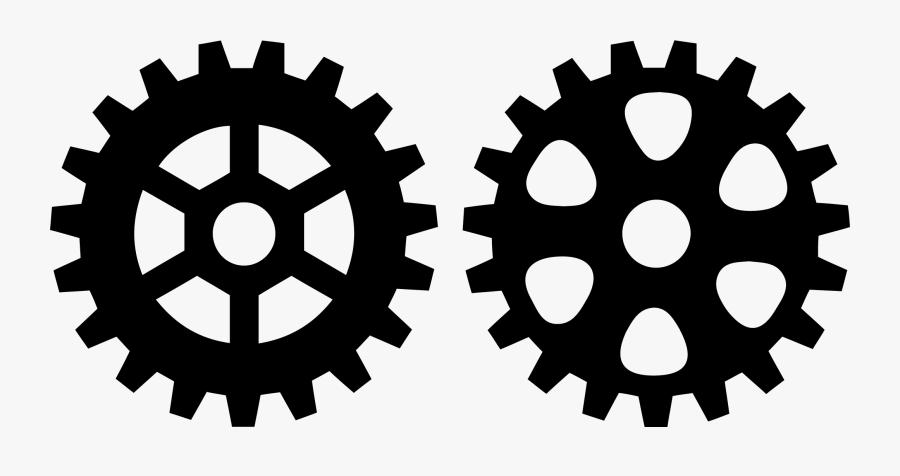 Gears Clipart Bike Gear - Gear Vector, Transparent Clipart