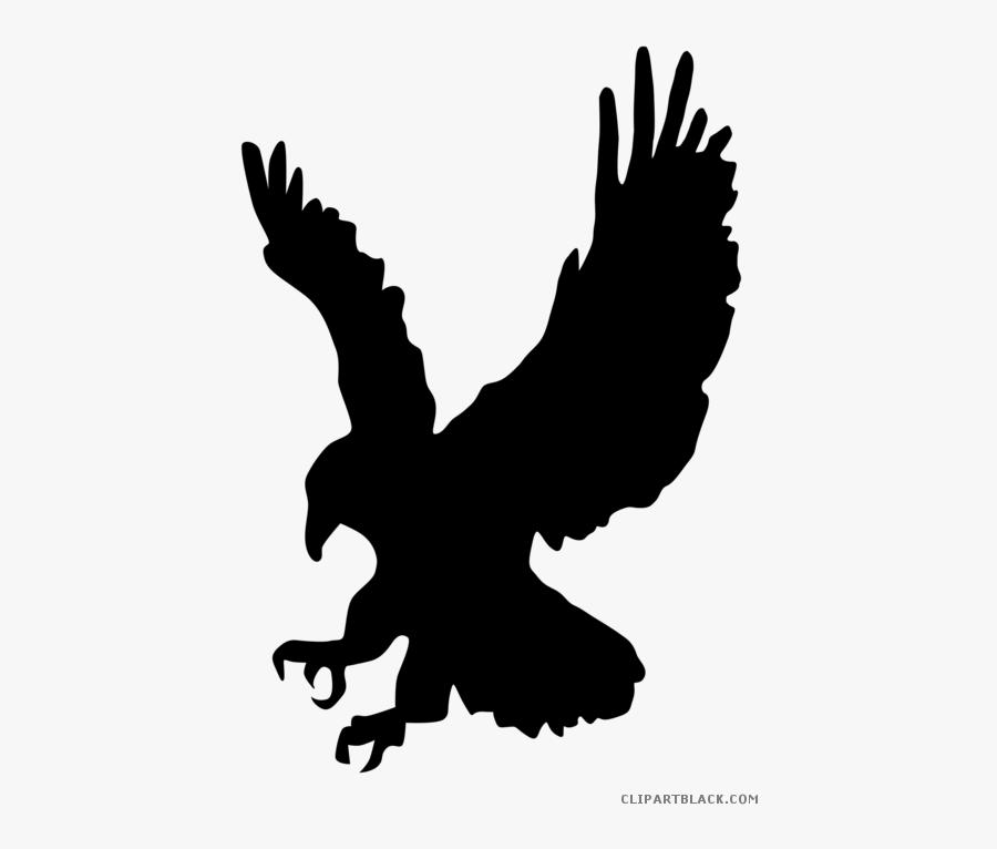 "Bald Eagle Clipart Eagle""s Nest - Ravenclaw Eagle Black And White, Transparent Clipart"
