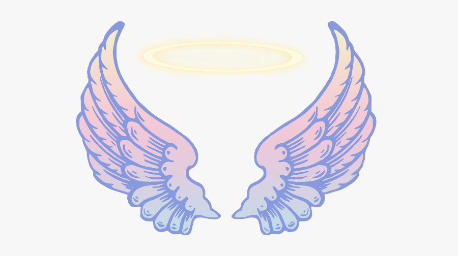 Myband Wings Angels - Clip Art Transparent Angel Wings Png, Transparent Clipart