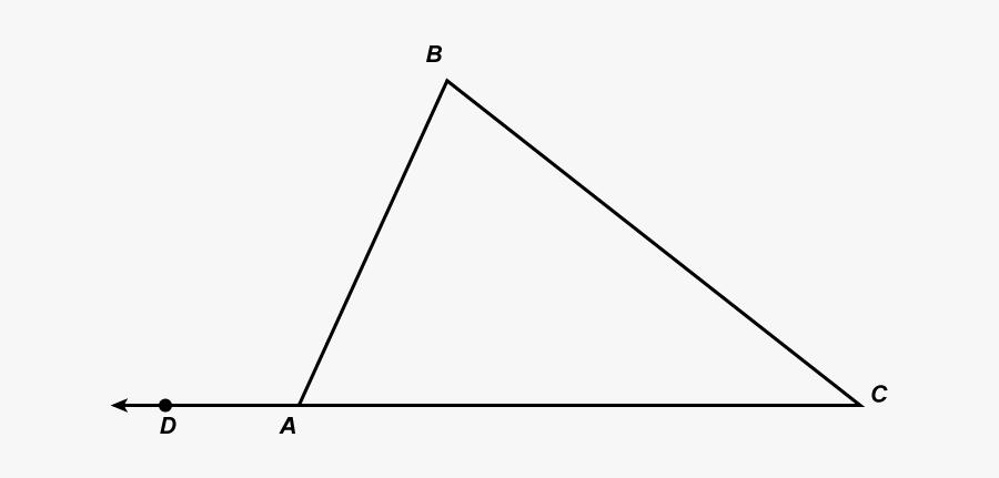 Triangle Clipart Angle - Triangle, Transparent Clipart