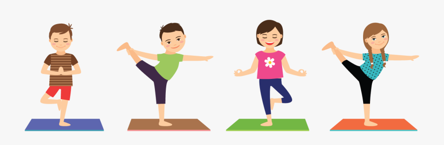 Yoga For Children And Teenagers Kids Yoga Free Transparent Clipart Clipartkey