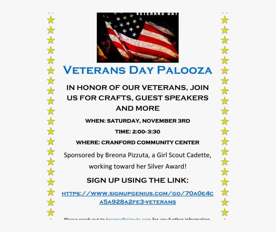 Transparent Veterans Day Png - Flag Of The United States, Transparent Clipart