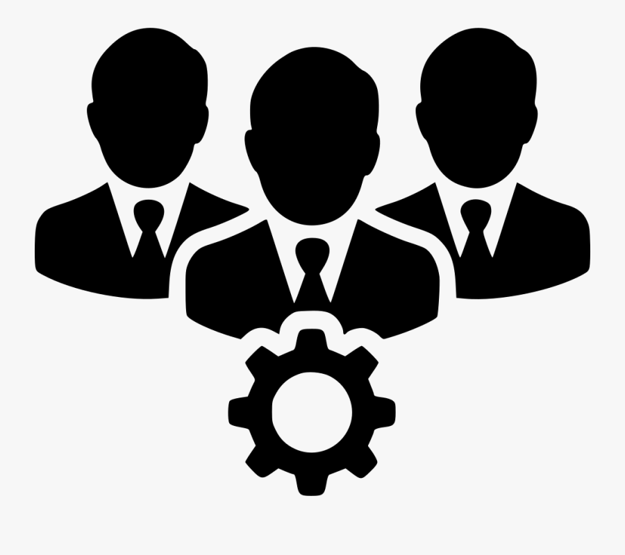 Teamwork Clipart Person Connected - Icon Teamwork Png, Transparent Clipart