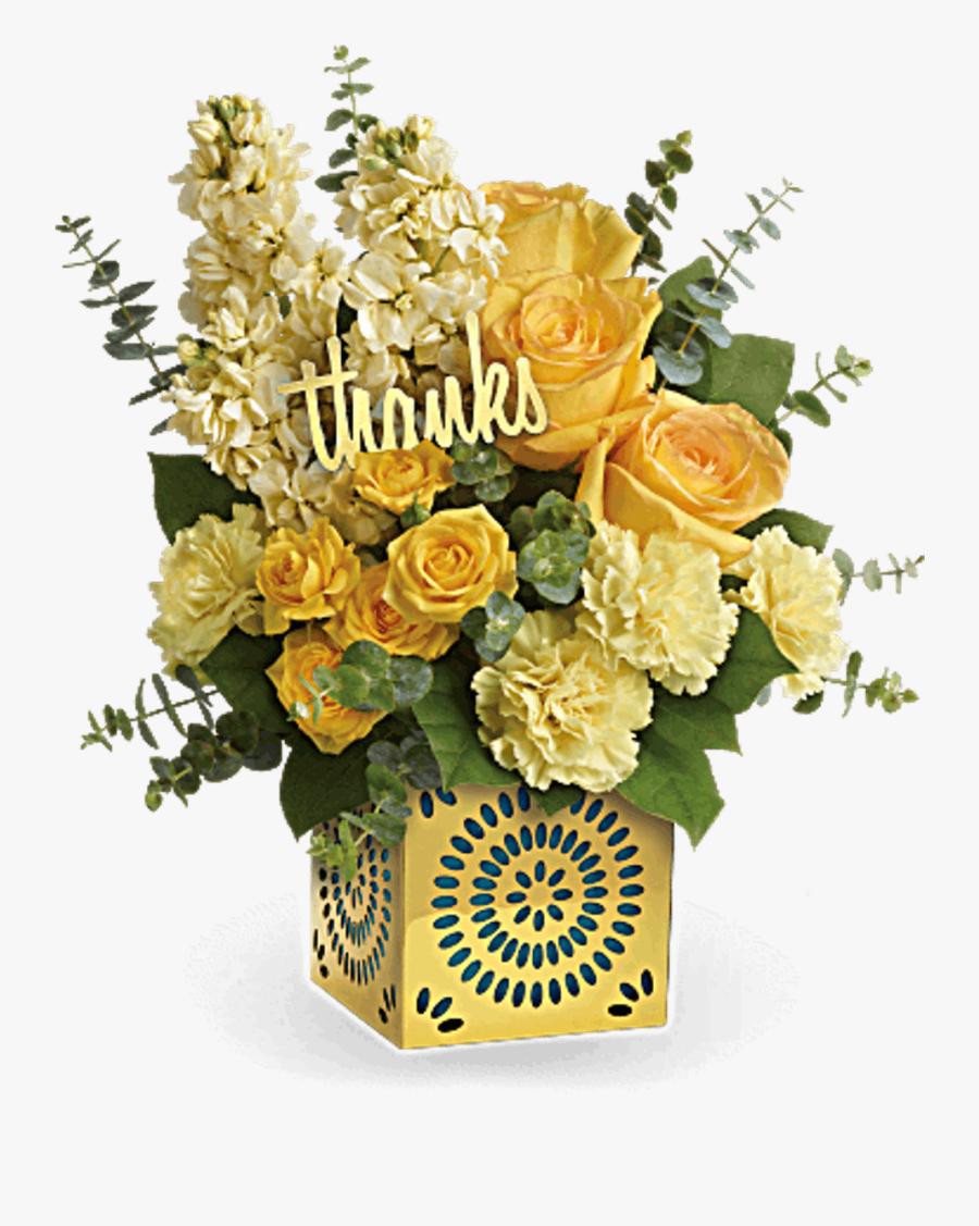 Clip Art Bices Florist - Thank You Flowers, Transparent Clipart