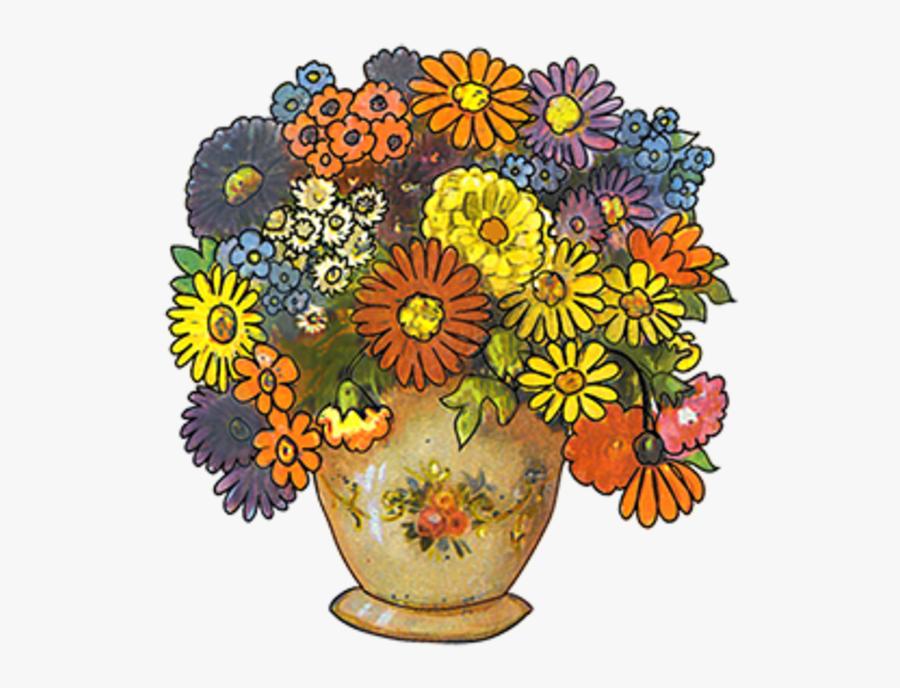 Transparent Funeral Flowers Clipart - Flower Bouquet, Transparent Clipart