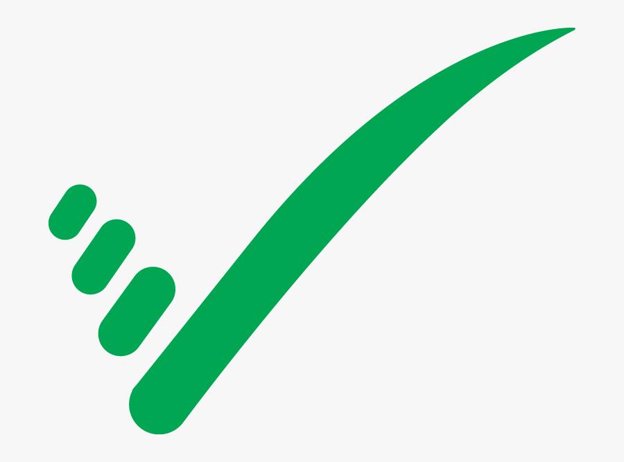 The Big Green Tick - Tick Logo, Transparent Clipart