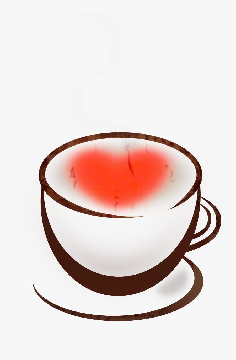 Coffee Clip Art Portable Network Graphics Transparency - Big Red Coffee Cup Clip Art, Transparent Clipart