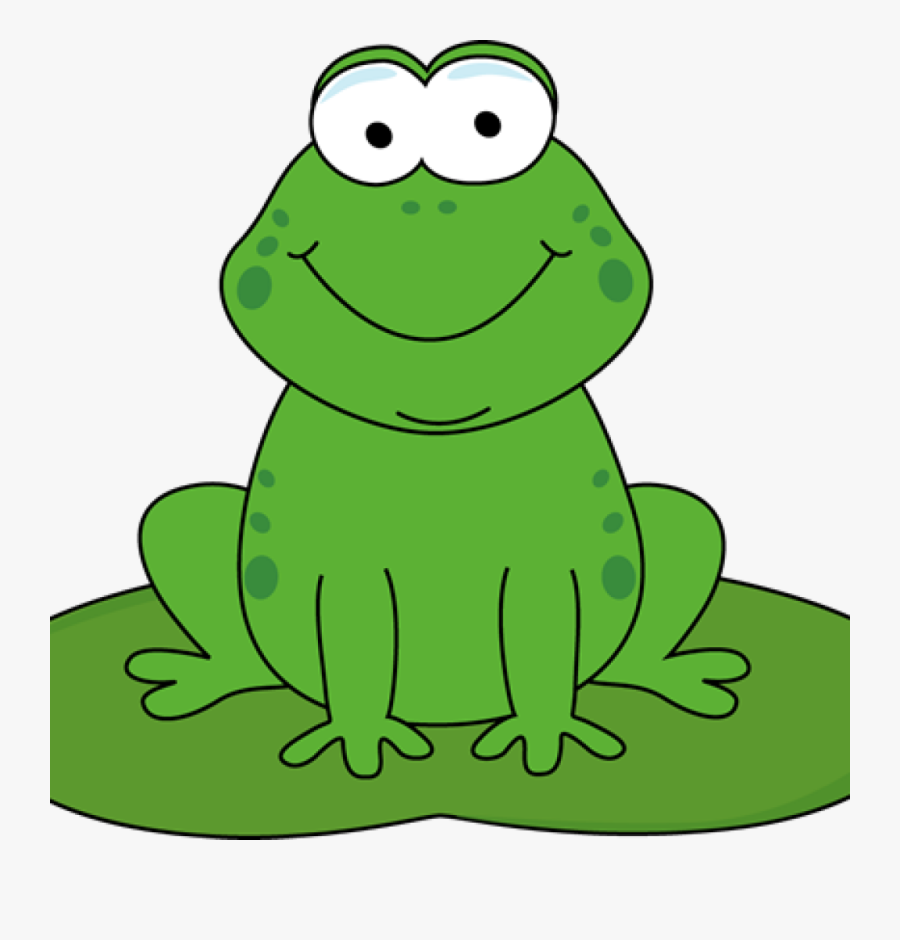 Lily Pad Cow Hatenylo - Frog Clipart, Transparent Clipart