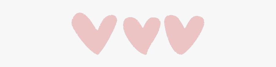 #kawaii #cute #doodle #adorable #tiny #chibi #editing - Pink Heart Tumblr Transparent, Transparent Clipart