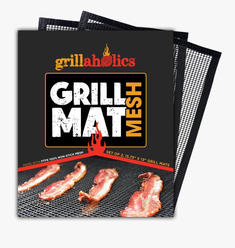 Grillaholics Mesh Grill Mat - Non Stick Mesh Grill Mat, Transparent Clipart