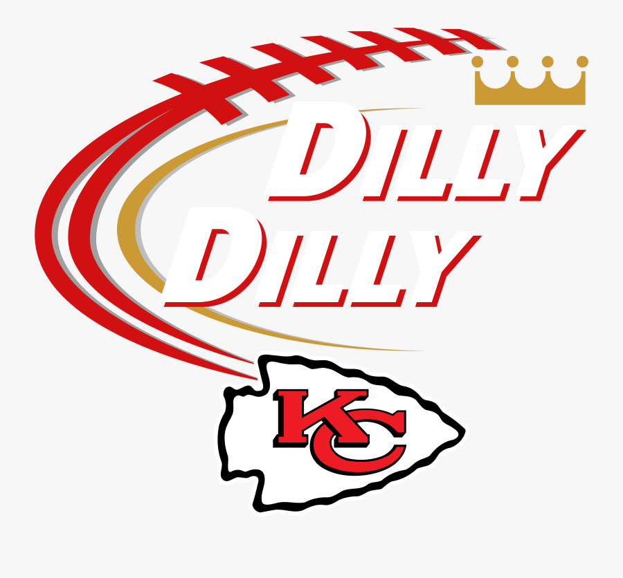 "Dilly Dilly Women""s Tank Top - Kansas City Chiefs Logo 2019, Transparent Clipart"