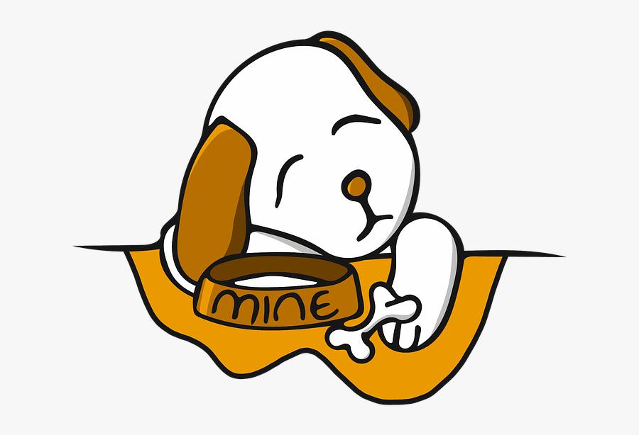 Cartoon Dog Bone Png Cartoon Dog Sleeping Png Transparent Free
