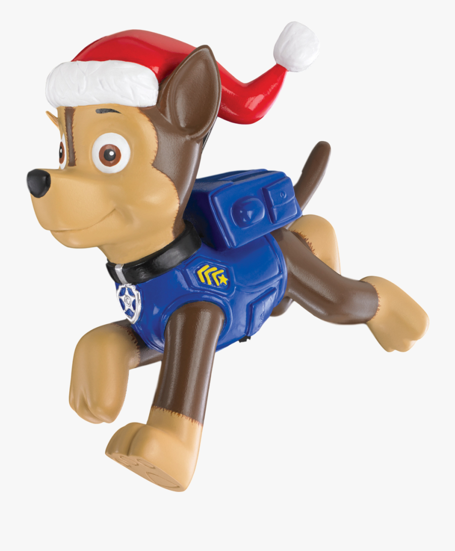 2017 Paw Patrol, Chase - Paw Patrol Chase Ornaments, Transparent Clipart