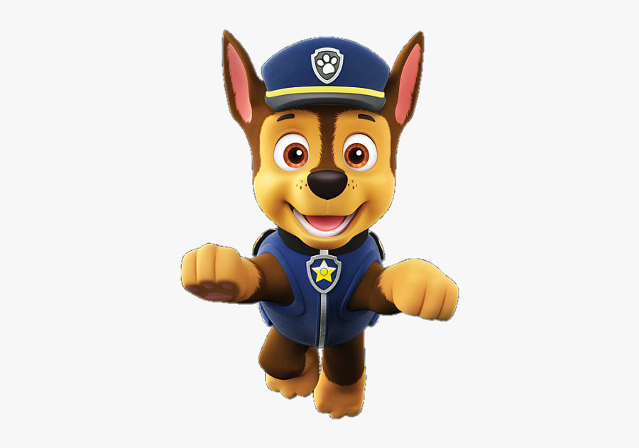 Chase Sticker Png - Paw Patrol Chase Png, Transparent Clipart