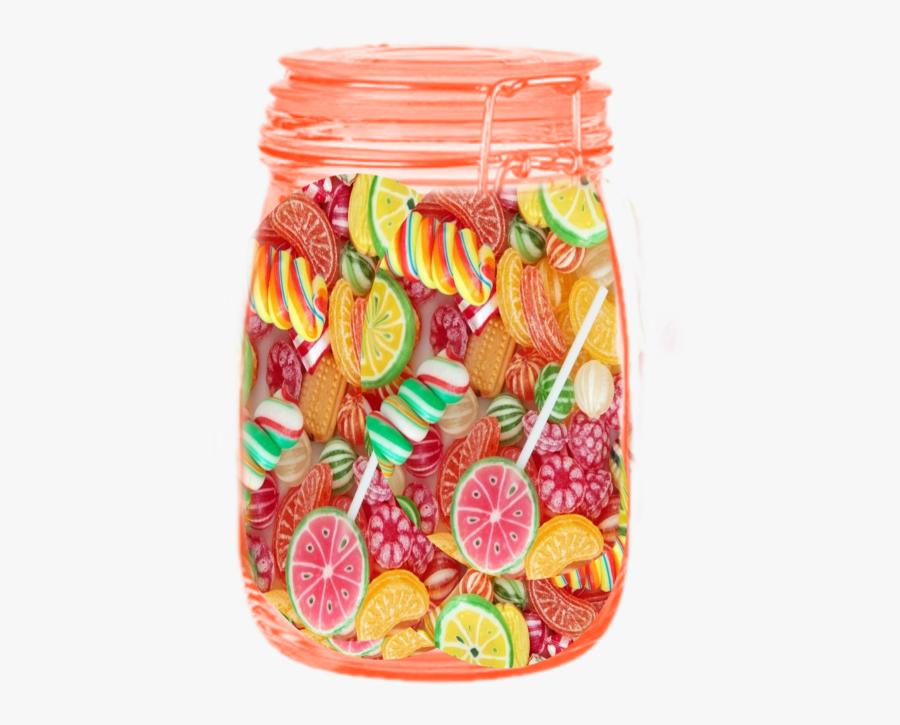 #candy#jar - Stick Candy, Transparent Clipart