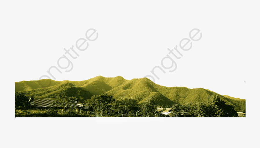 Mountain Scenery Hill - Hill Transparent, Transparent Clipart