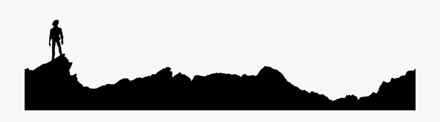Mountain Wallpaper At Getdrawings - Rocky Silhouette Ground Png, Transparent Clipart