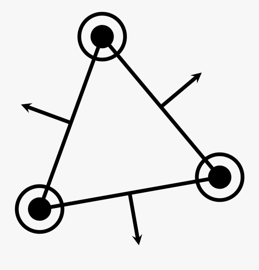 Drawing Outward Normal Vectors To A Regular Polygon, Transparent Clipart