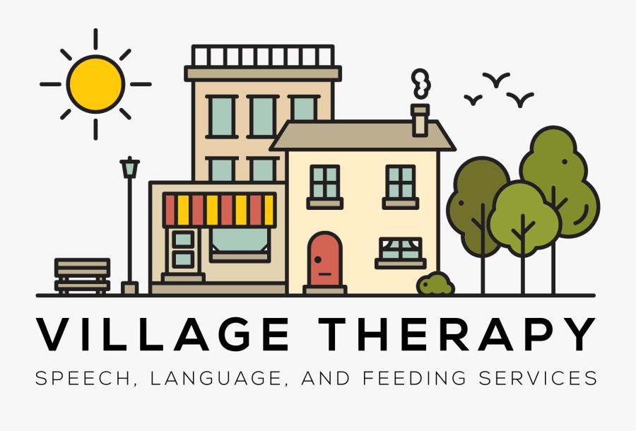 Village Therapy Pediatric Speech - Cartoon, Transparent Clipart