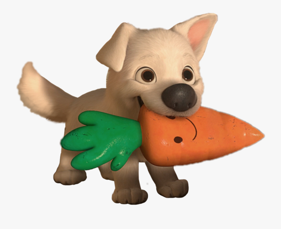 Disney Bolt White Dog Puppy Cute Sweet Carrot Bolt And Mr Carrot Free Transparent Clipart Clipartkey