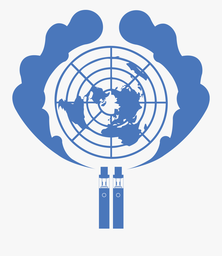 Government Clipart Ambassador - Un Flag Black And White, Transparent Clipart