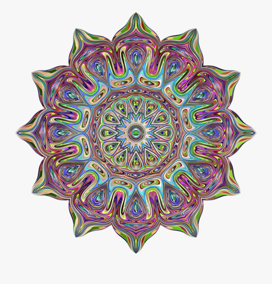 Mandala-2859029 - Tiktik App, Transparent Clipart