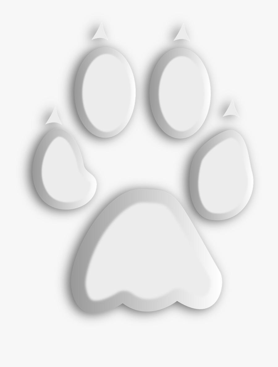 Gambar Telapak Kaki Anjing, Transparent Clipart