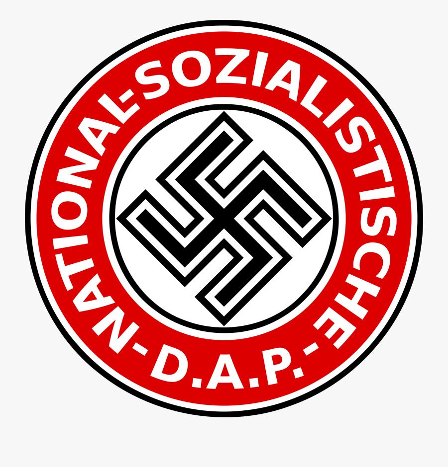 Transparent Nazi Soldier Clipart - National Socialist German Workers Party Symbol, Transparent Clipart