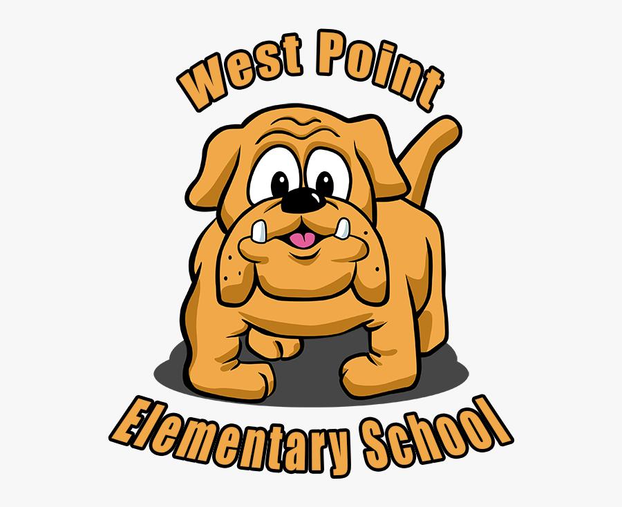 Westpointes Mascot - West Point Elementary Maschot, Transparent Clipart