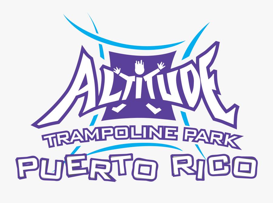 Altitude Trampoline Park Logo - Altitude Trampoline Park Bayamon, Transparent Clipart