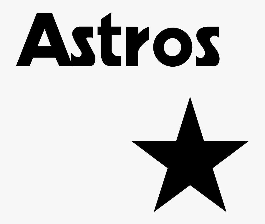 Astros Clip Art >> Houston Astros Astros Logo In Black And White Free